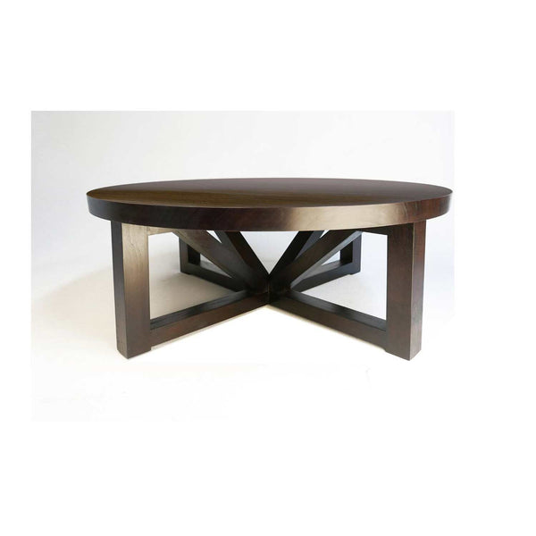 Modern Round Angle Leg Coffee Table