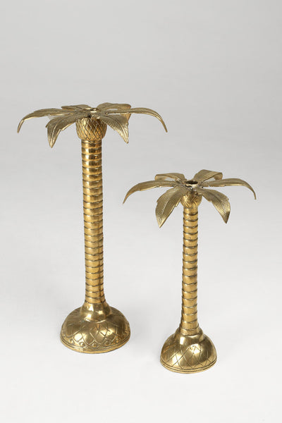 Palm Candle Holders