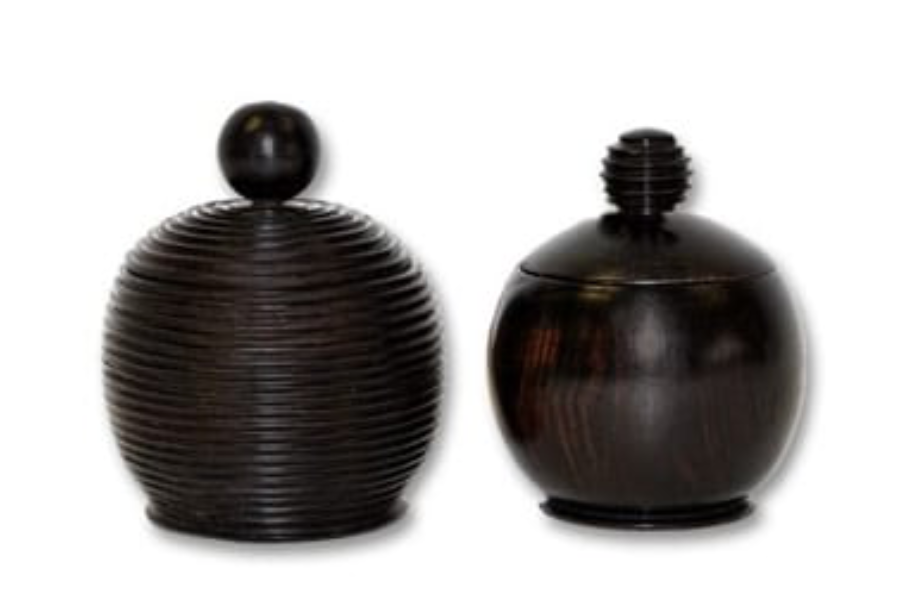 Mozambique Ebony Vessel- Draga Design