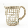 Seagrass Woven Glassware Collection