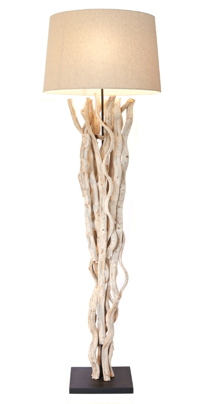 Natural Vine Floor Lamp