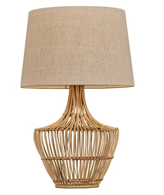 Havana Rattan Table Lamp