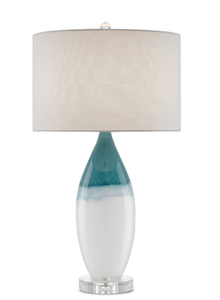 Ombre Blue Table Lamp