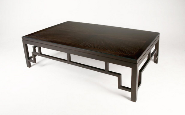 Fan Coffee Table Ebony