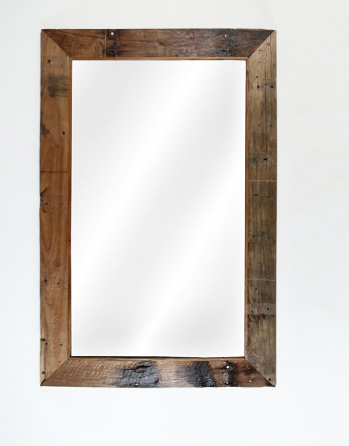 Antique Rustic Mirror