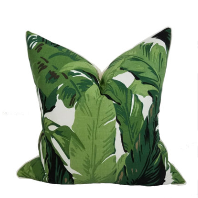 Jungle Palm Pillow