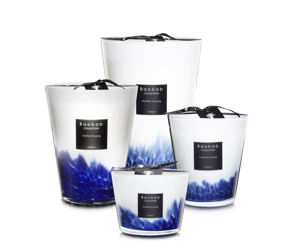 Baobab Candle Collection - Feathers Touareg
