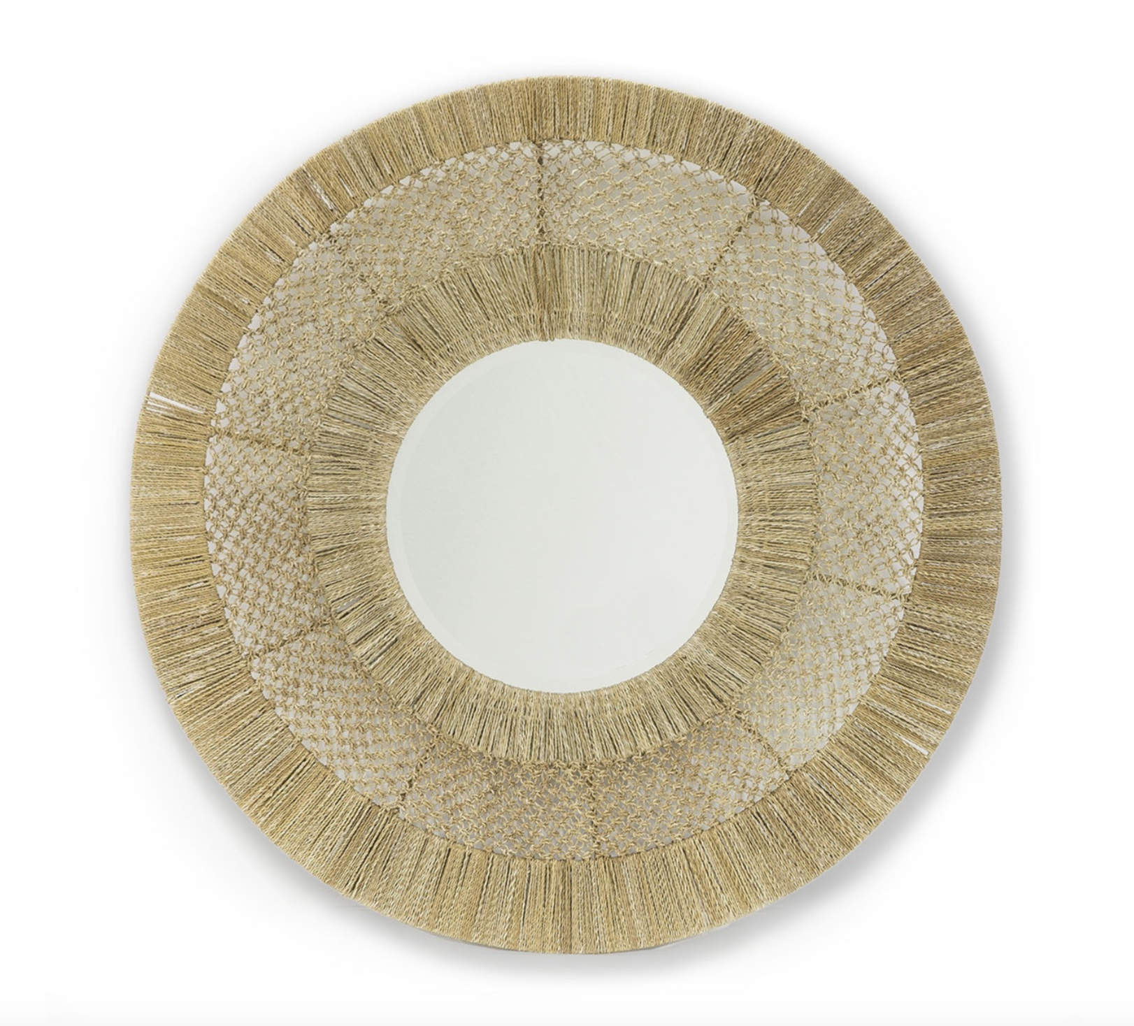 Woven Rope Mirror