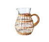 Rattan Woven Glassware Collection