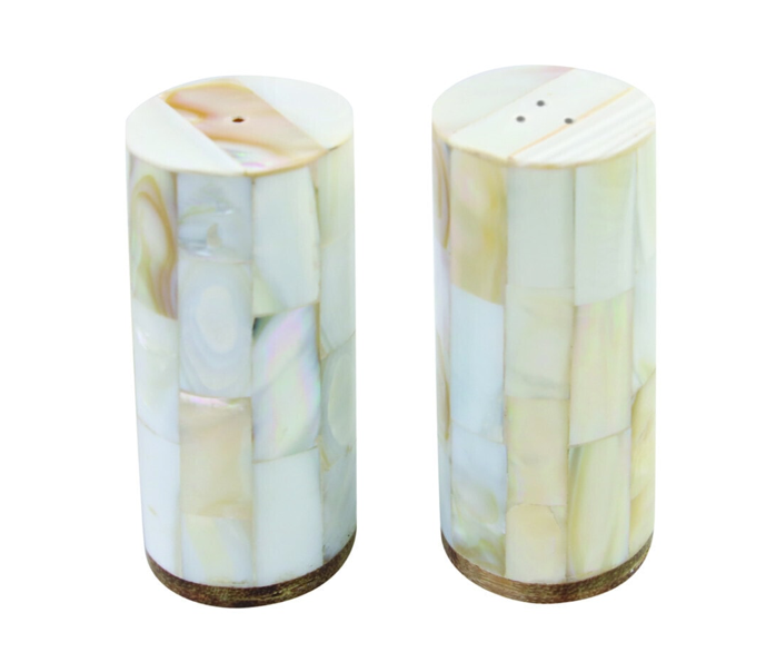Mother Of Pearl Salt & Pepper Shaker