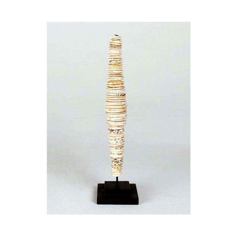 Tribal Shell Money Sculpture