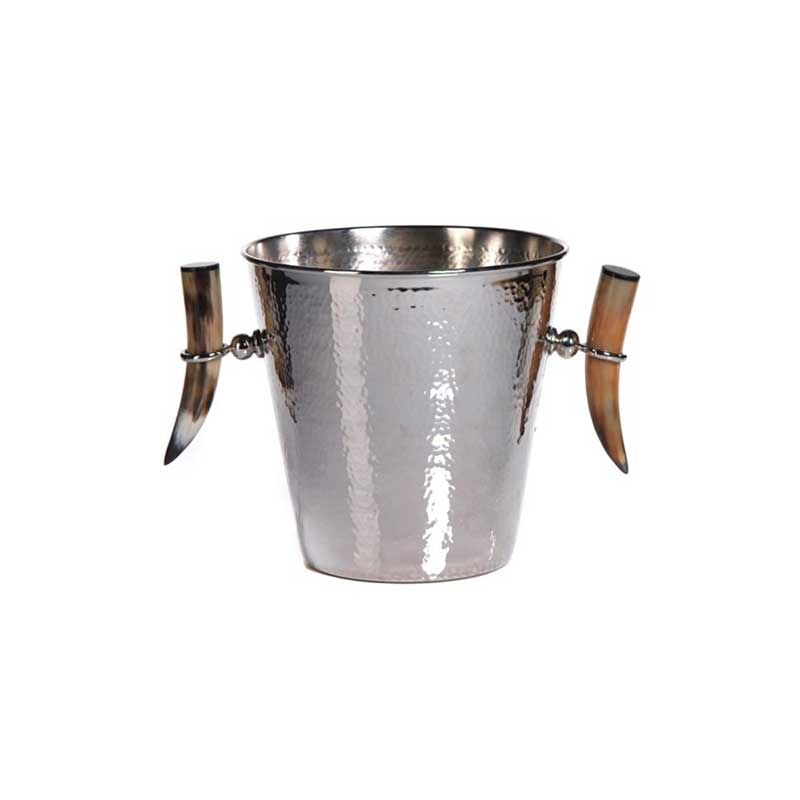 Natural Horn Wine Bucket
