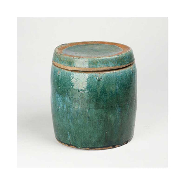 19th Century Thai Celadon Pottery  - Lidded Jars