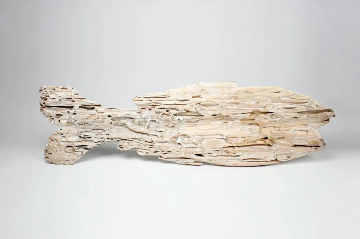 Eroded Fish Sculpture