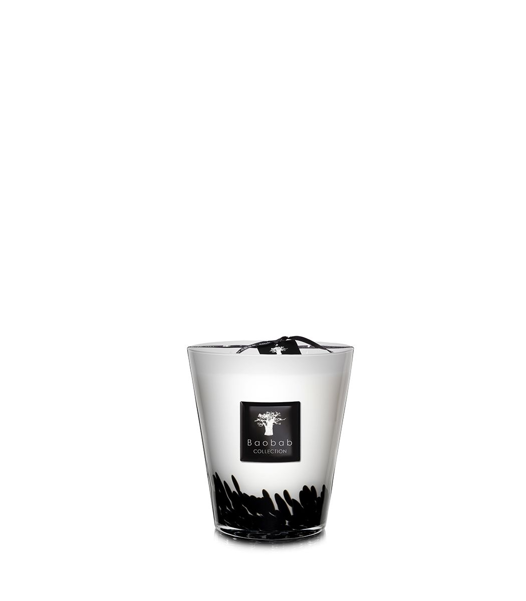 Baobab Candle Collection - Feathers Black
