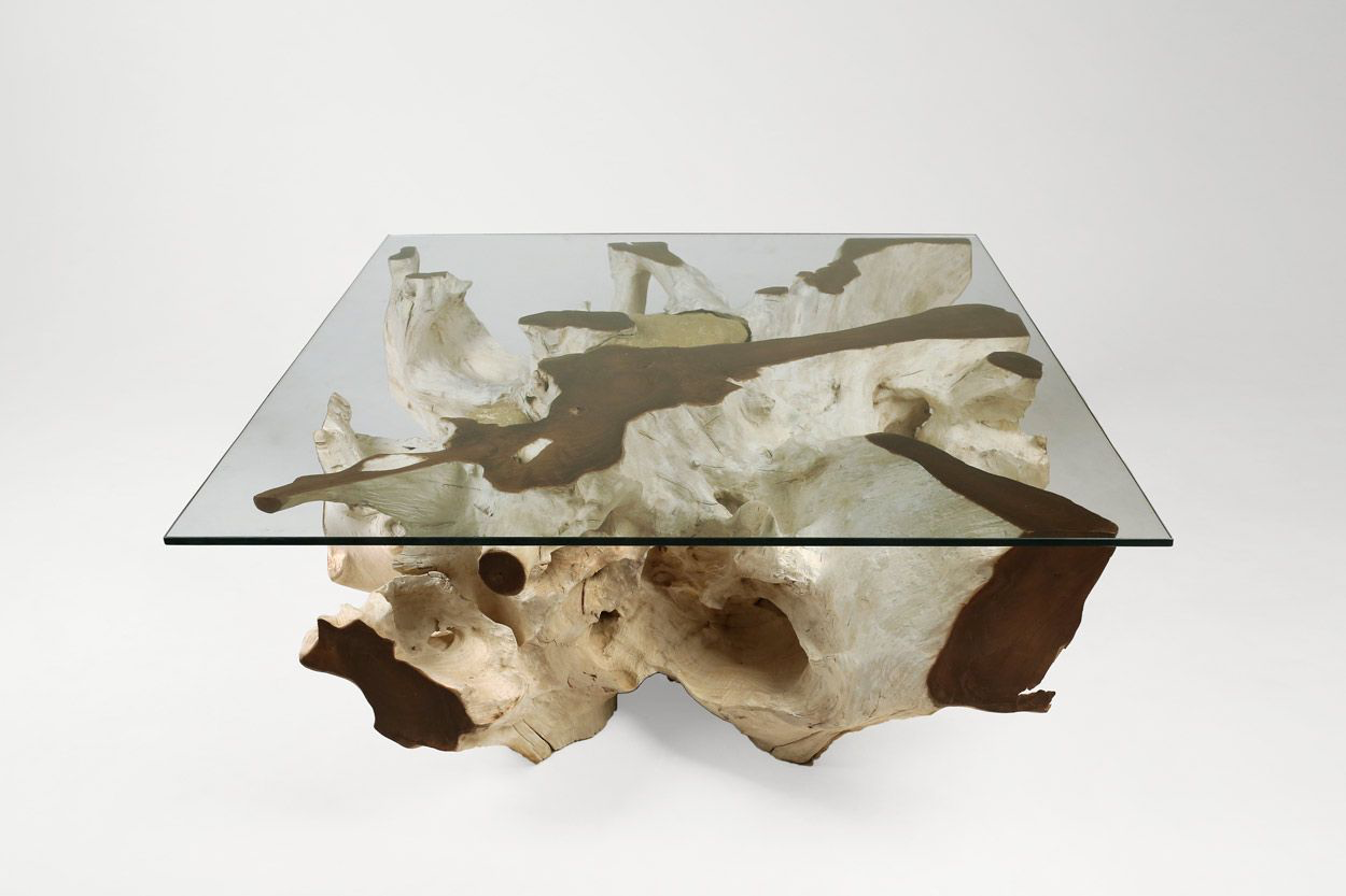 "Teak Root Coffee Table ""A"""