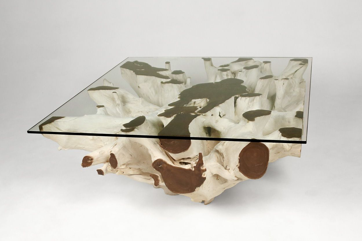 "Teak Root Coffee Table ""G"""