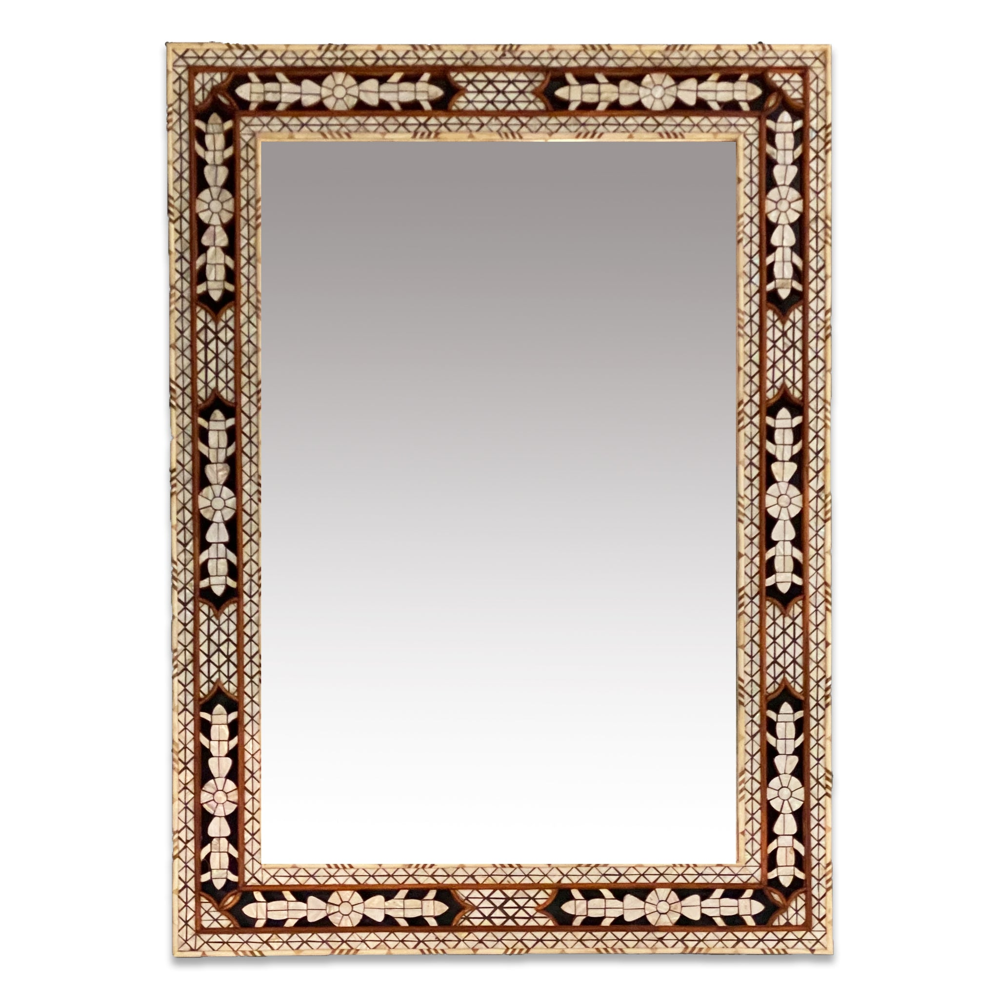 Moroccan Inlay Mirror