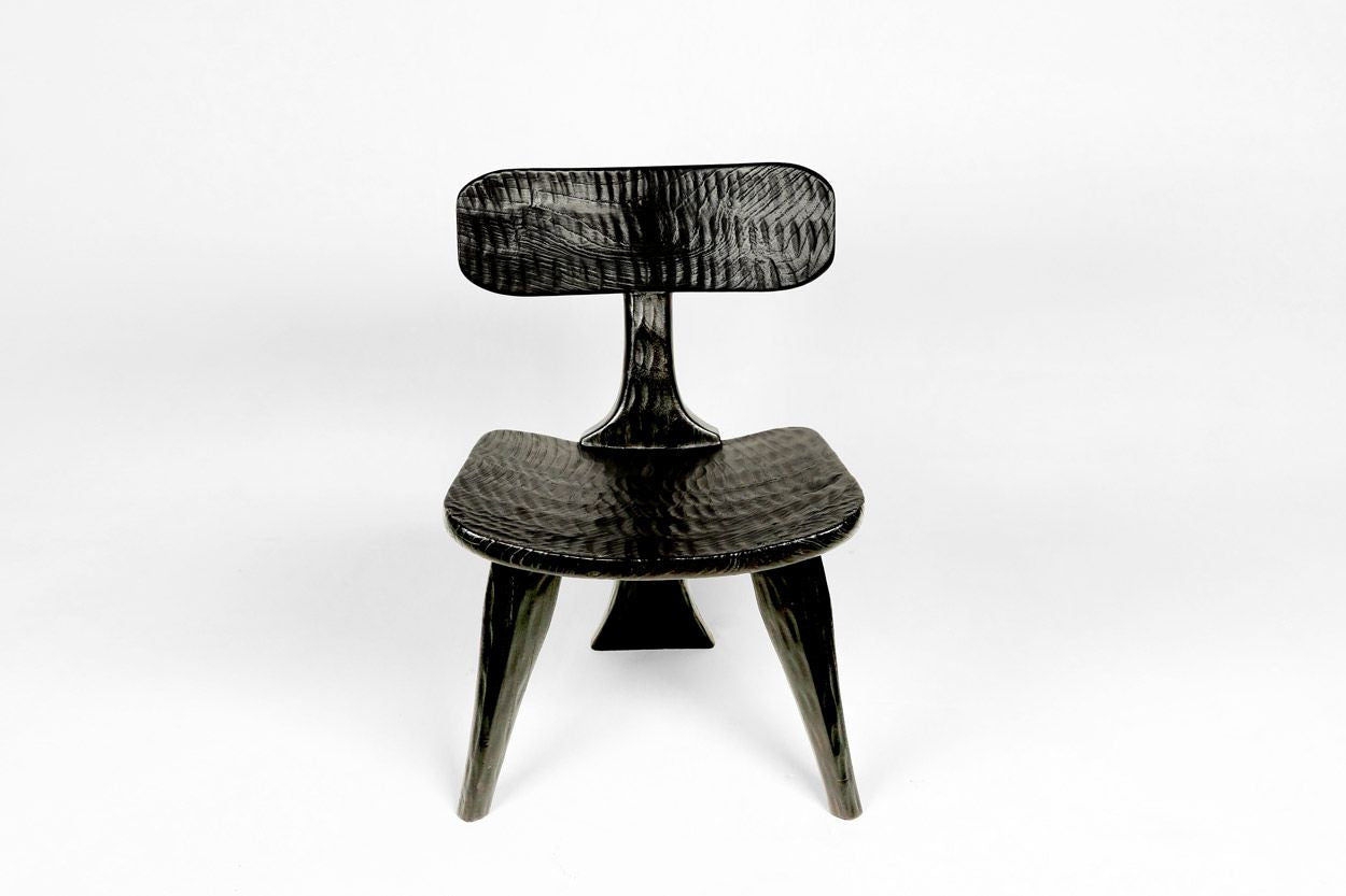 African Styled Chair- Ebony