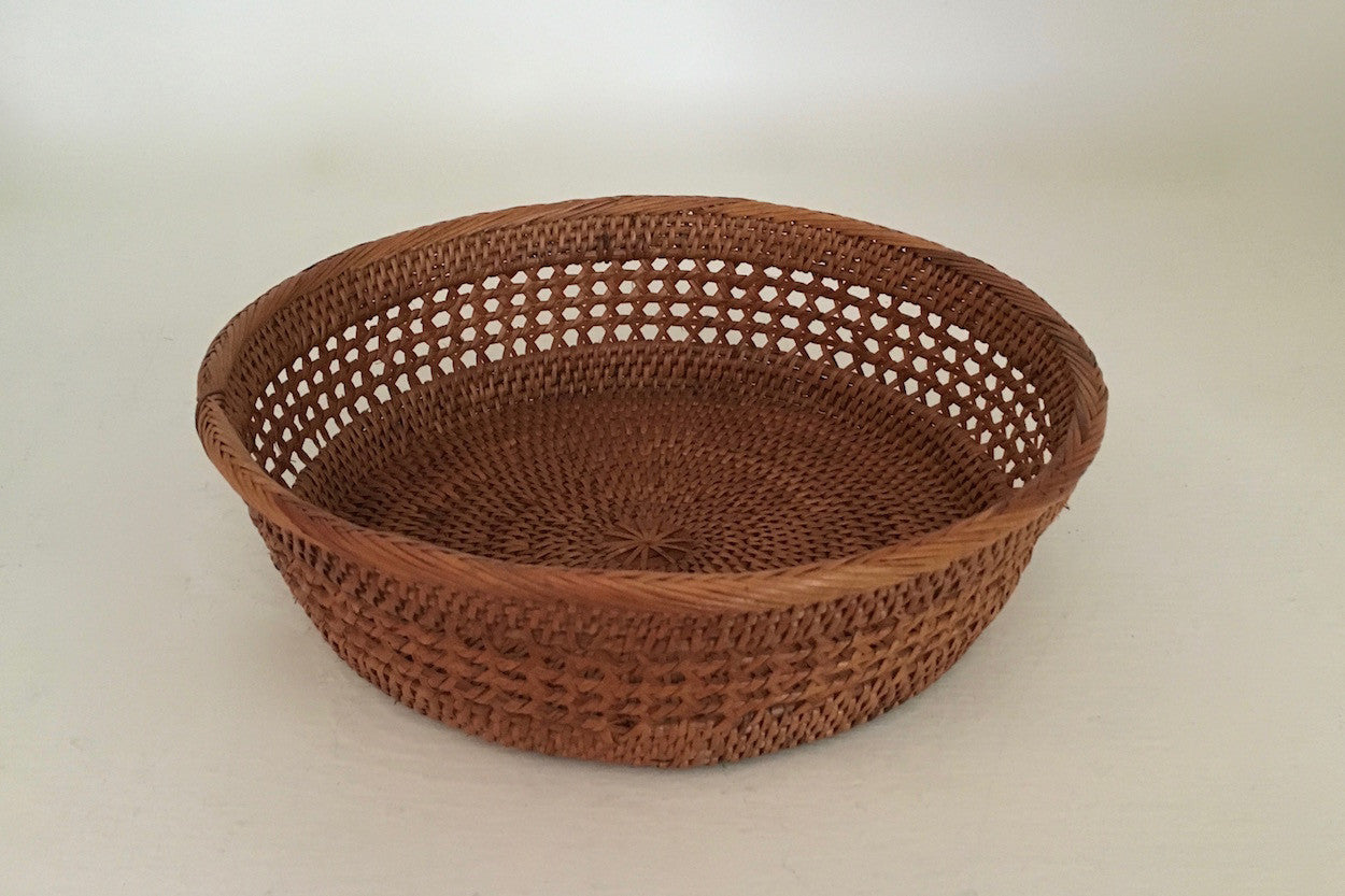 Large Weave Bread Basket - Small