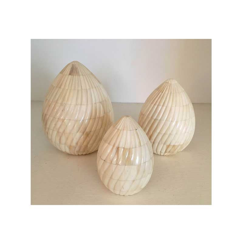 Bone Eggs - Set of 3