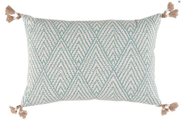 Tahitian Stitch Lumbar Pillow