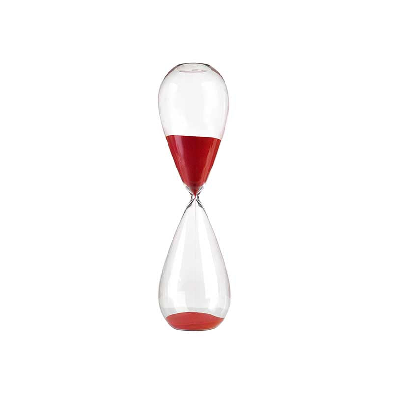 Hand Blown Hourglass - Large