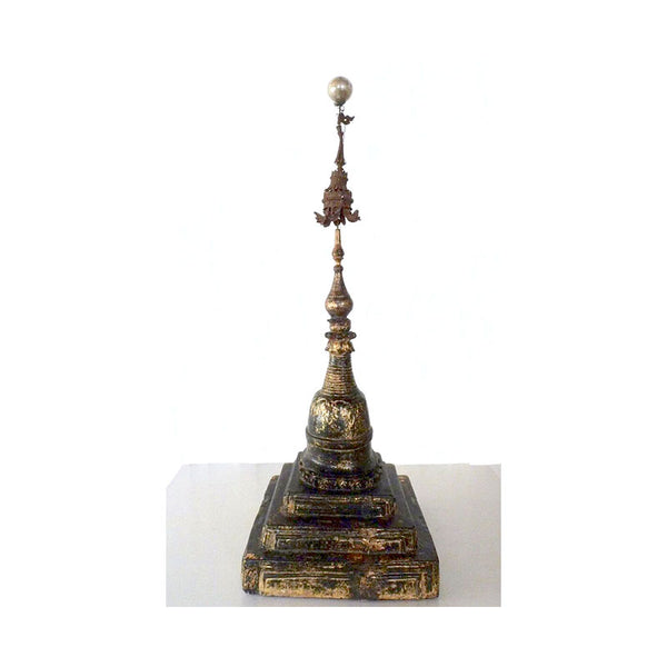 Antique Burmese Stupa