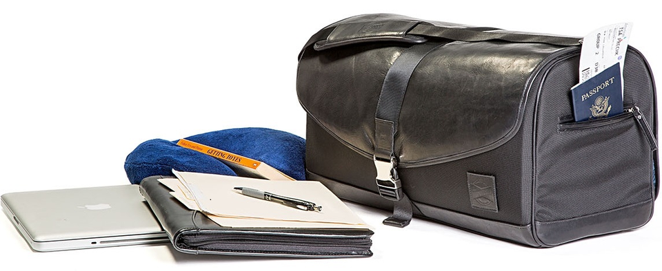 Leather Travel Duffel Bags
