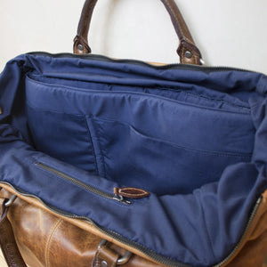 Briefcase, Man Bag, Computer Bag - The Gent - Brown