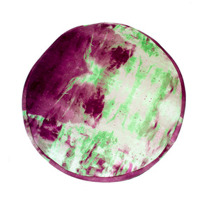 Kassia Cushion Purple & Green
