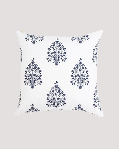 Bloom Pillow Vintage Indigo