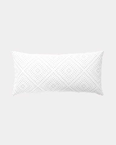 Didot Lumbar Pillow Light Grey