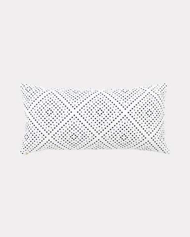 Didot Lumbar Pillow Navy