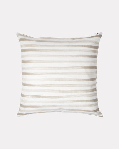 Hand Painted Stripe Pillow Sand