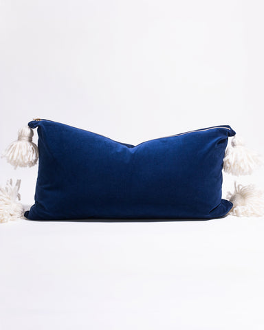 Happy Tassel Lumbar Pillow