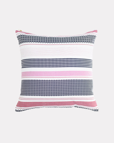 Misfit Stripe Pillow Cherry