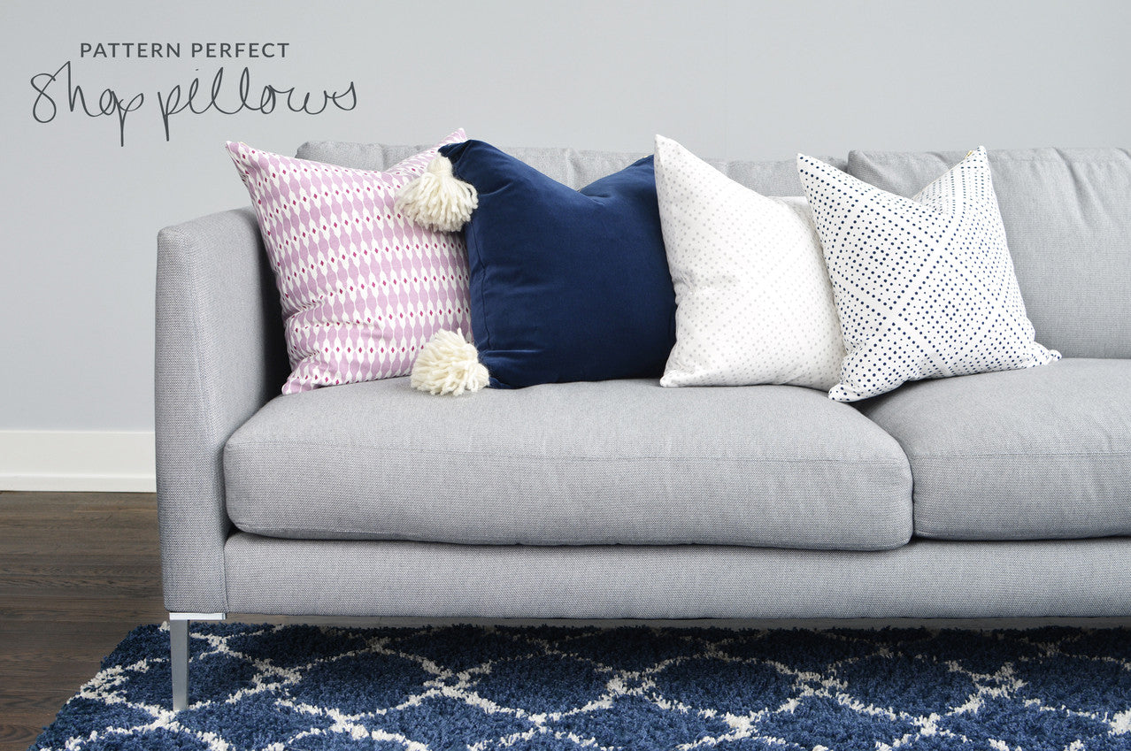 Pepper B. Pillows and Fabrics