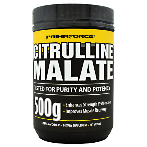 Primaforce Citrulline Malate - Unflavored - 250 Servings - 811445020757