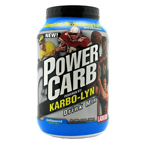 Labrada Nutrition Power Carb Gametime - Unflavored - 2.2 lb - 710779333604