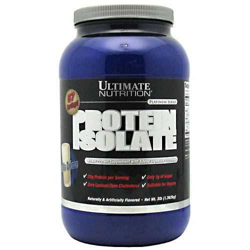 Ultimate Nutrition Platinum Series Protein Isolate