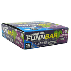 BPI FunnBar - Gashin Grape - 12 Bars - 811213021726