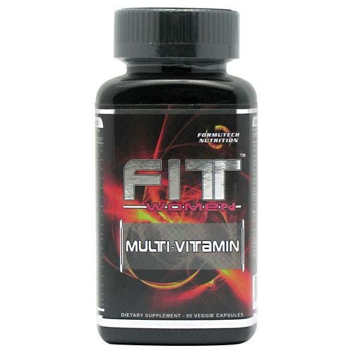 Formutech Nutrition Fit Womens Multi-Vitamin - 90 Capsules - 793573908872