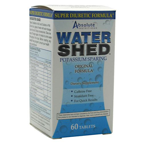 Absolute Nutrition Water Shed - 60 Tablets - 708235088472