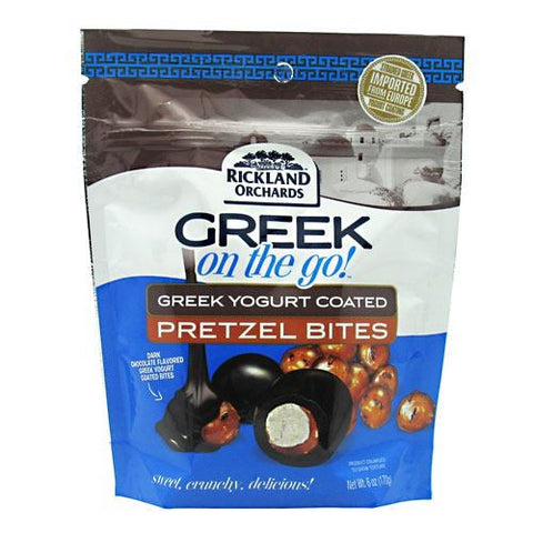 Dark Chocolate Greek Yogurt Pretzel Bites - 6.5 oz