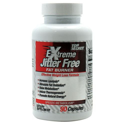 Top Secret Nutrition Extreme Jitter Free - 90 Capsules - 858311002837