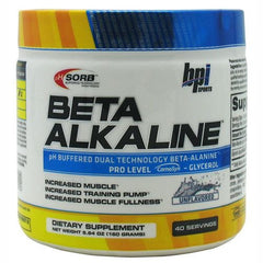 BPI Beta Alkaline - Unflavored - 40 Servings - 851780006597