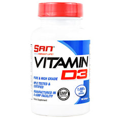 SAN Vitamin D3 - 180 Softgels - 672898414001