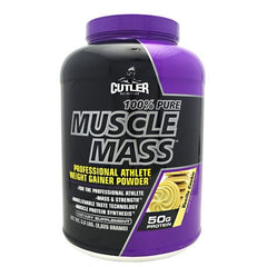 Cutler Nutrition Muscle Mass - Vanilla Cookie - 5.8 lb - 810150020687