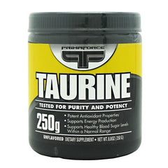 Primaforce Taurine - Unflavored - 250 g - 811445020382